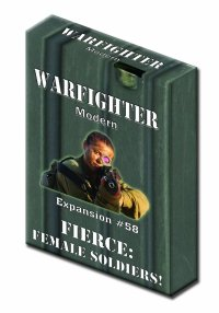 Warfighter Modern - Expansion #58 Fierce: Female Soldiers!