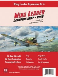 Wing Leader Expansion #4: Legends 1937-1945
