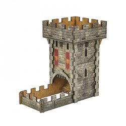 Color Dice Tower Medieval