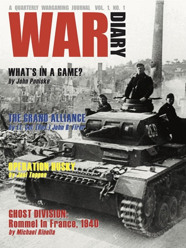 War Diary Magazine Issue #01
