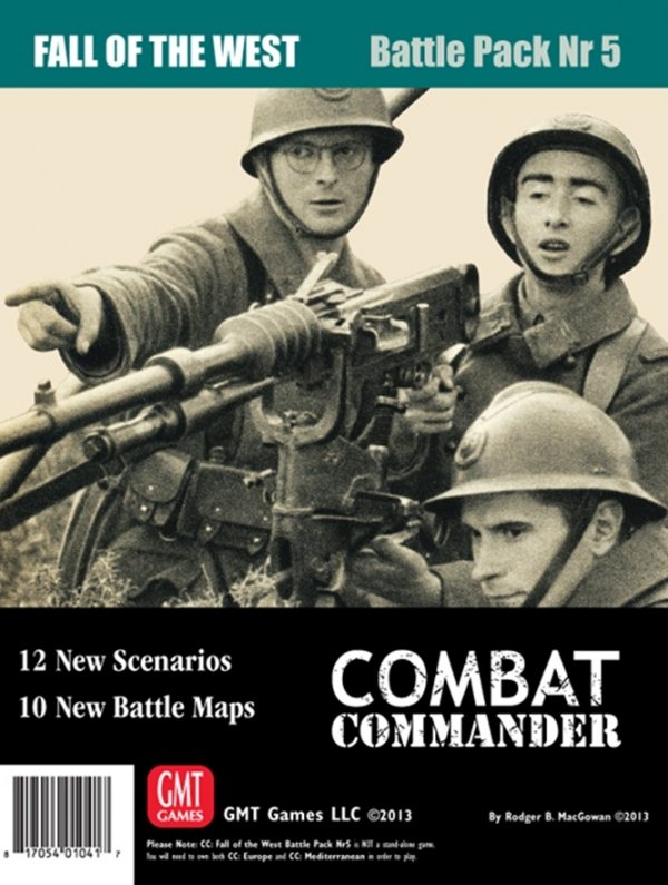 Combat Commander Battle Pack #5: Fall of the West Reprint