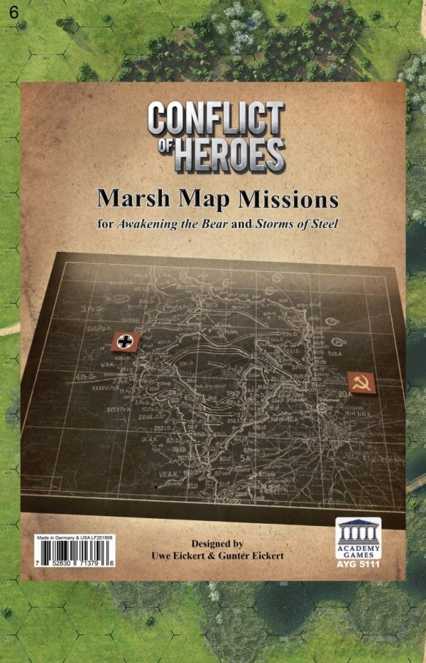 Conflict of Heroes: The Marsh Exp. 3rd Ed.
