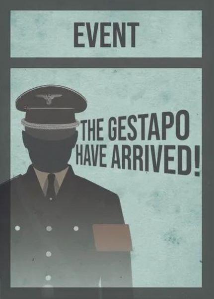 La Résistance: Gestapo Event Cards
