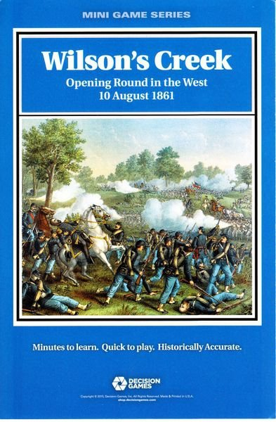 Mini-Game Wilson's Creek: Opening Round in the West, 10 August 1861