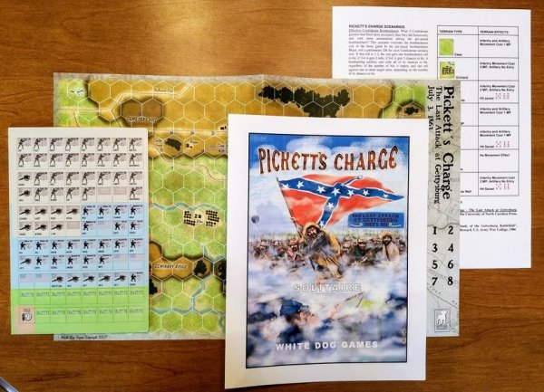 Pickett's Charge: The Last Attack at Gettysburg JUly 3, 1863