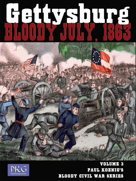 GETTYSBURG: Bloody July, 1863 Volume 3