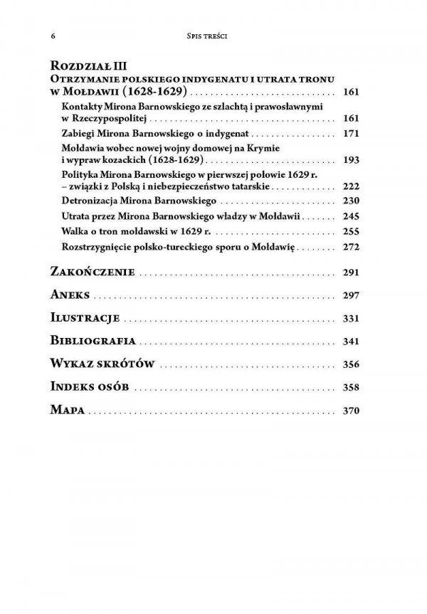 Mołdawia między Polską a Turcją. Hospodar Miron Barnowski i jego polityka (1626-1629)