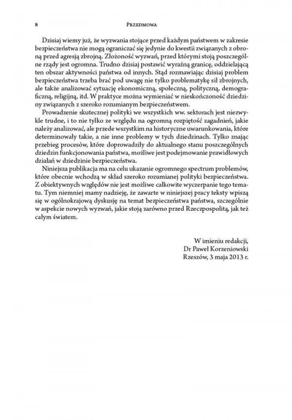 Historyczne uwarunkowania polityki bezpieczeństwa w aspekcie współczesnych zagrożeń