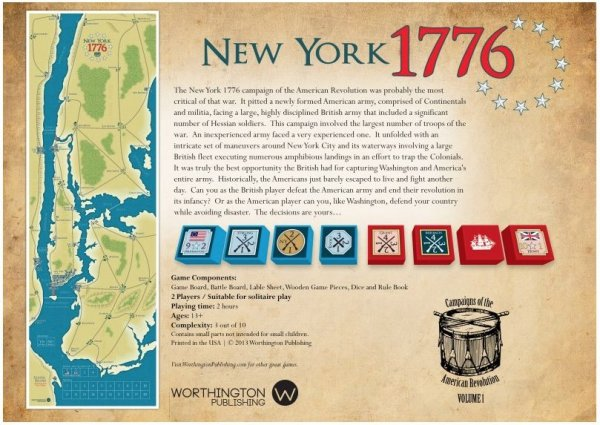 New York 1776 2nd Ed.