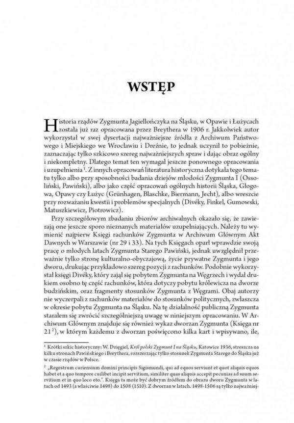 Rządy Zygmunta Jagiellończyka na Śląsku i w Łużycach (1499-1506)