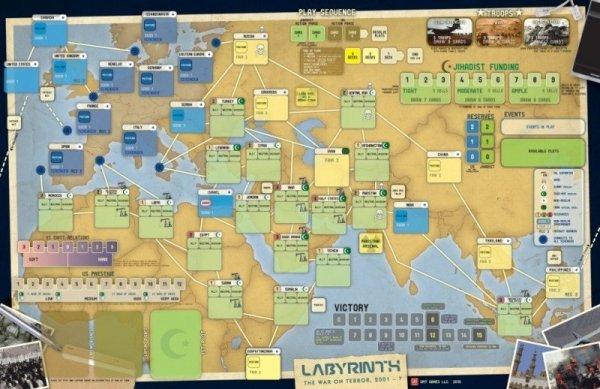 Labyrinth: The War on Terror, 2001-? 3rd Printing