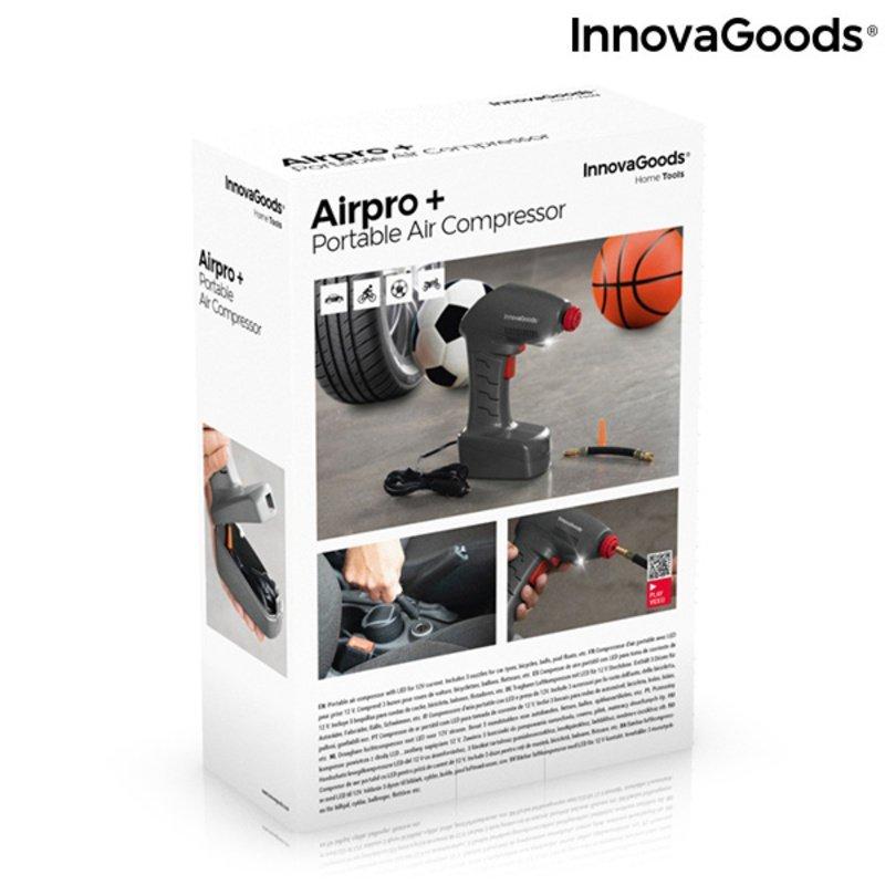 Przenośny kompresor powietrza LED Airpro+ InnovaGoods
