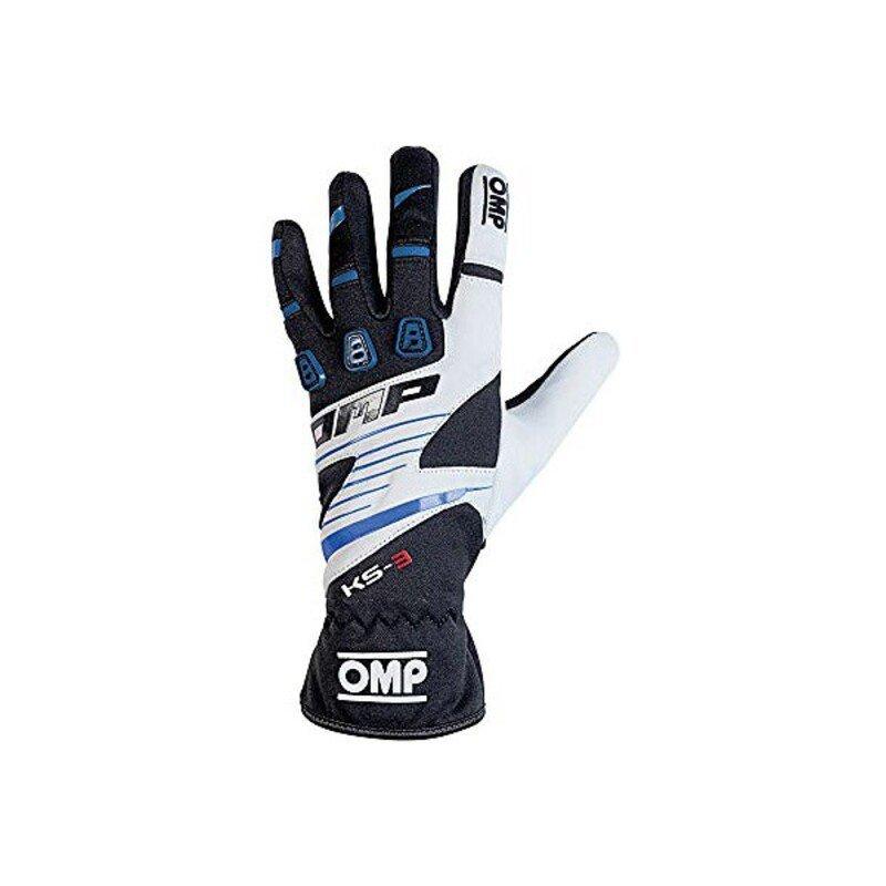 Męskie rękawice do jazdy OMP MY2018 Niebieski Czarny