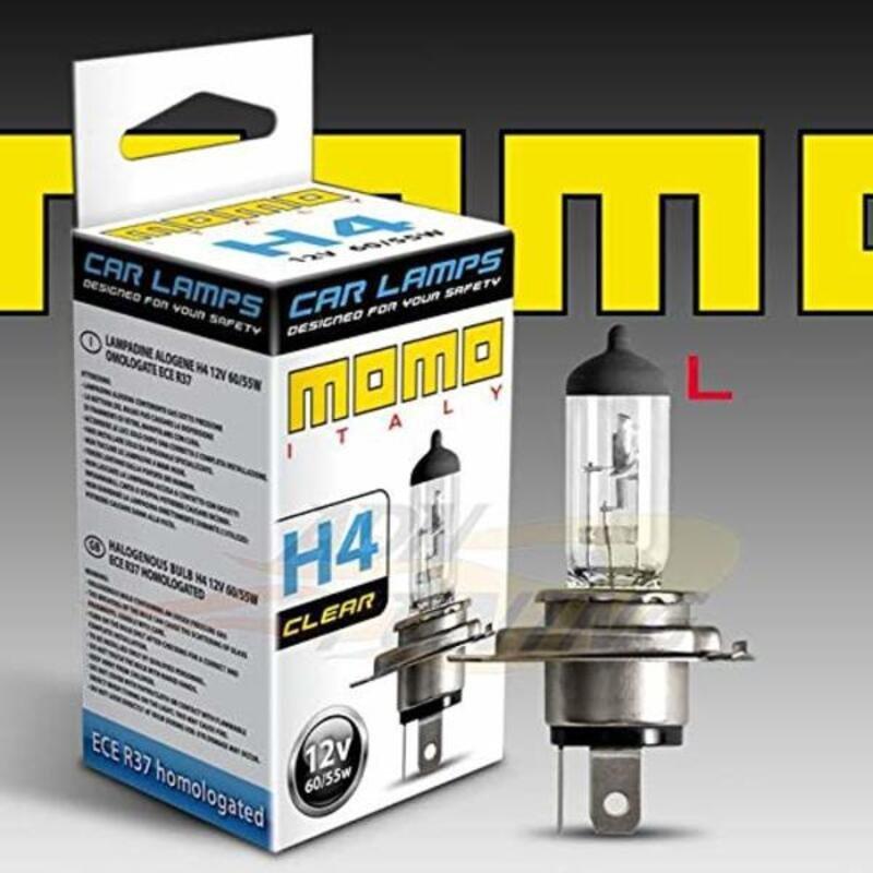 Automotive Bulb Momo LAMCLEAR60H4 H4 12V 60W 4000K