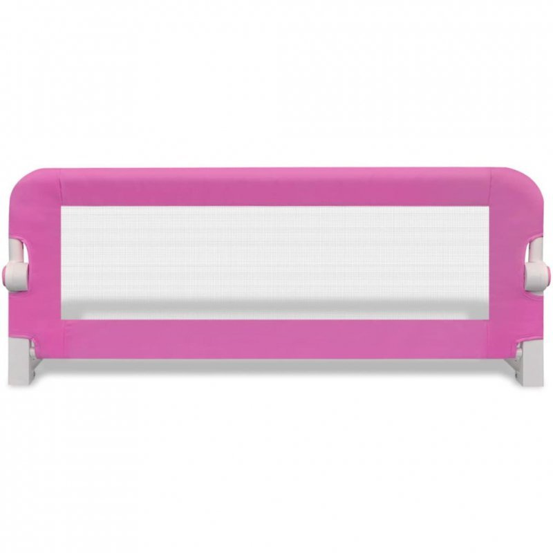 Barierka ochronna do łóżka, 102 x 42 cm, różowa