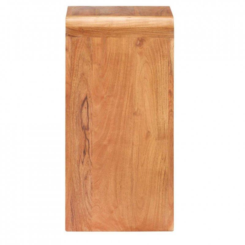 Szafka nocna, 40x30x60 cm, drewno akacjowe w kolorze sheesham