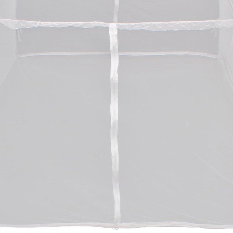 Moskitiera namiotowa, 200x120x130 cm, włókno szklane, biała