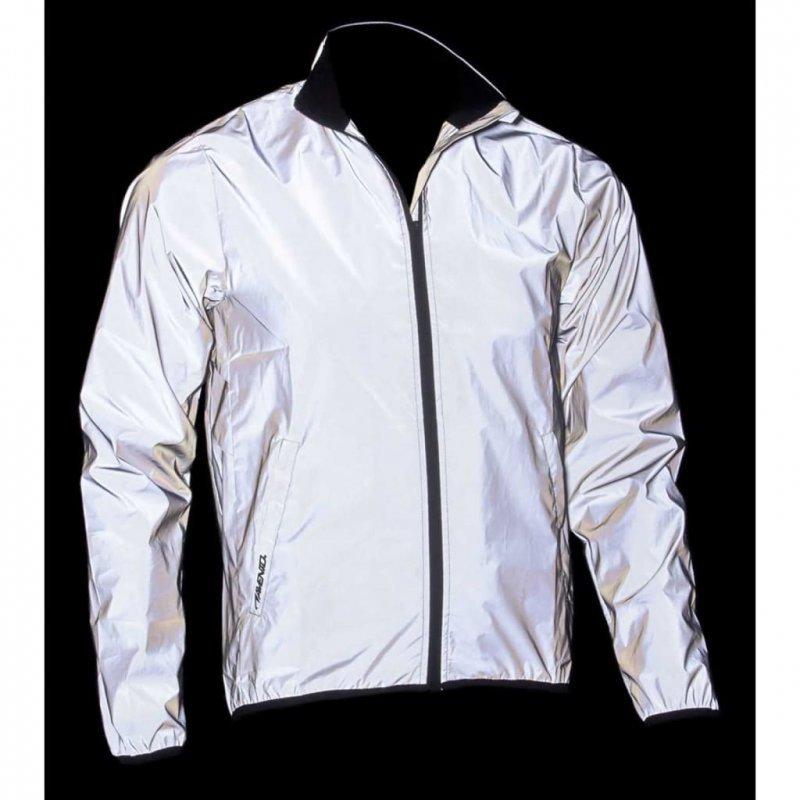 Avento Odblaskowa kurtka do biegania, męska, rozmiar M, 74RC-ZIL-M