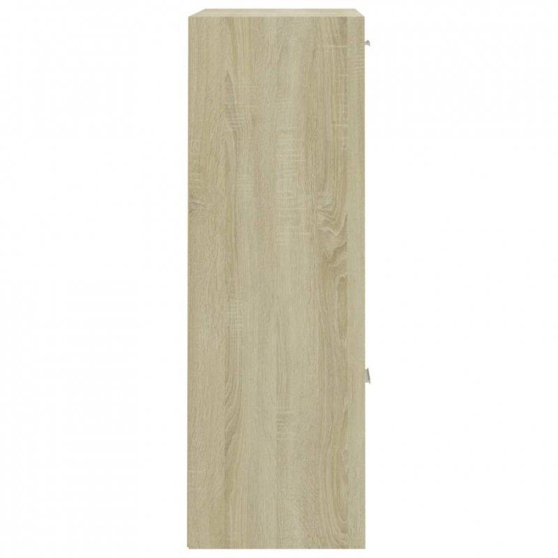 Szafka, kolor dąb sonoma, 60x29,5x90 cm, płyta wiórowa