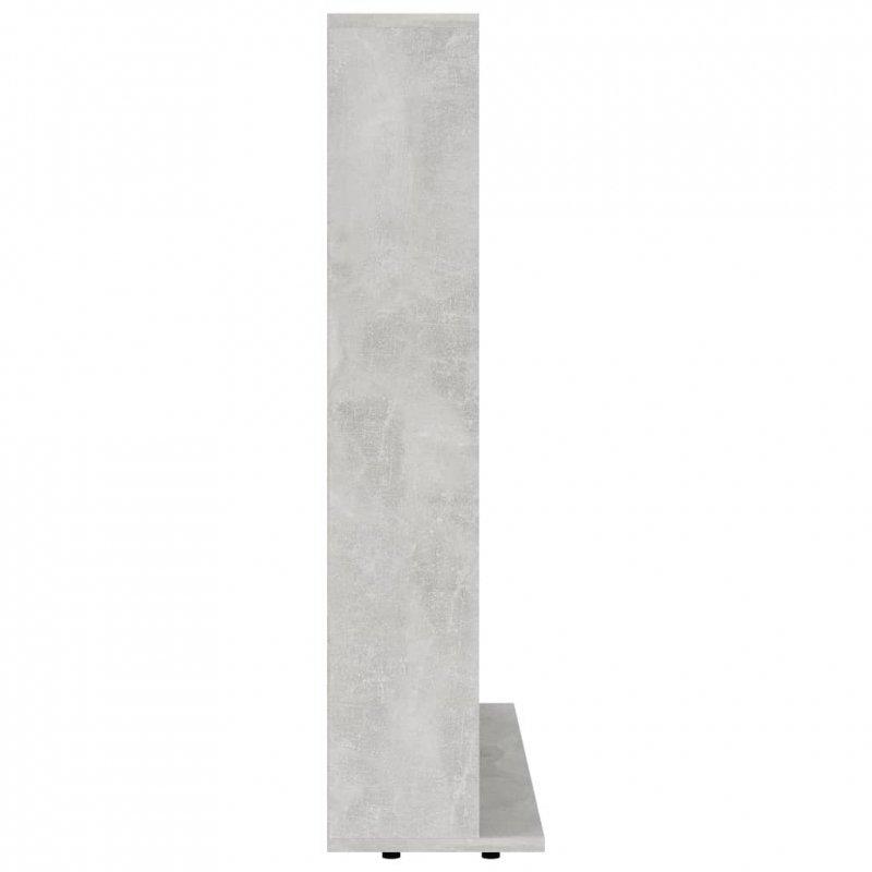 Szafka na płyty CD, szarość betonu, 102 x 23 x 89,5 cm