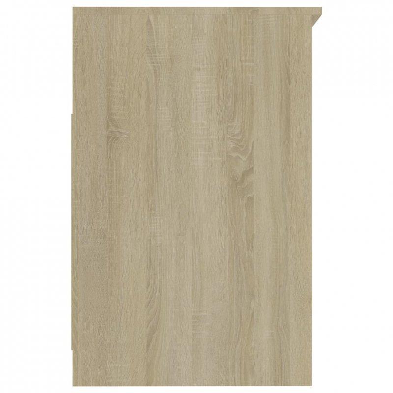 Komoda, dąb sonoma, 40x50x76 cm, płyta wiórowa