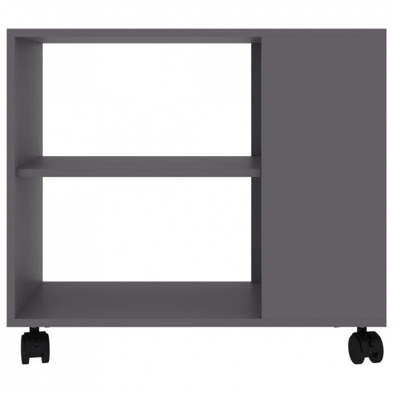 Stolik boczny, szary, 70x35x55 cm, płyta wiórowa