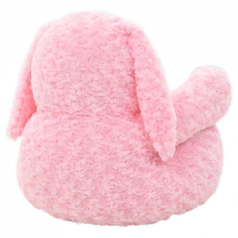 Pluszowy królik przytulanka, różowy