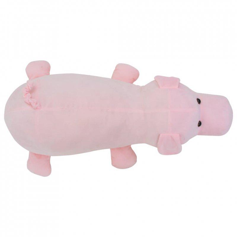 Pluszowa świnka przytulanka, różowa