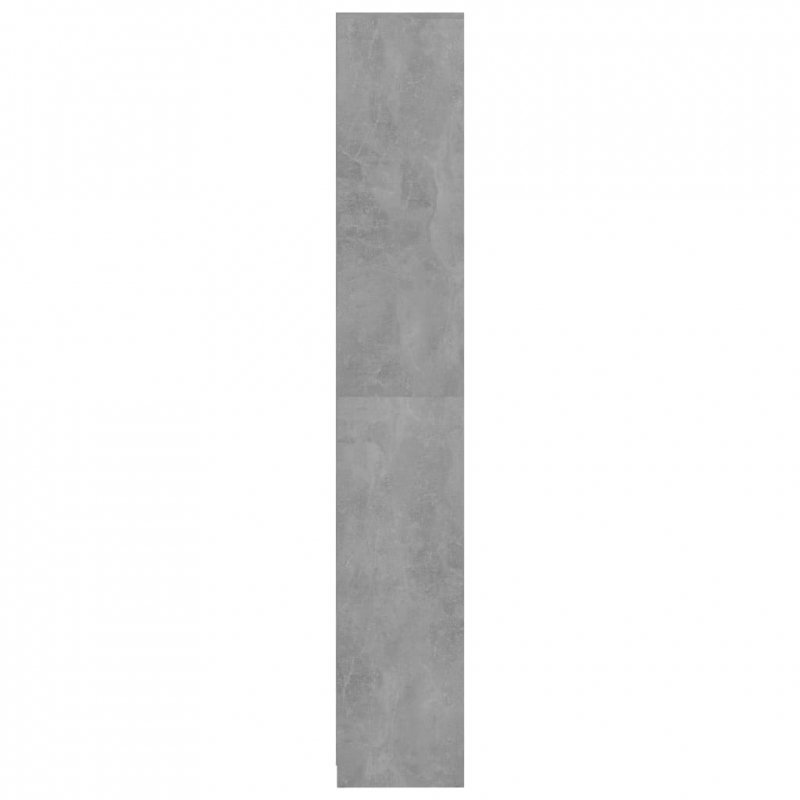 Szafka łazienkowa, szarość betonu, 30x30x183,5 cm, płyta wiórowa