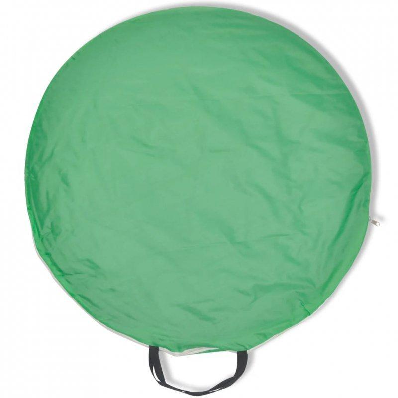 Składany namiot plażowy wodoodporny zielony