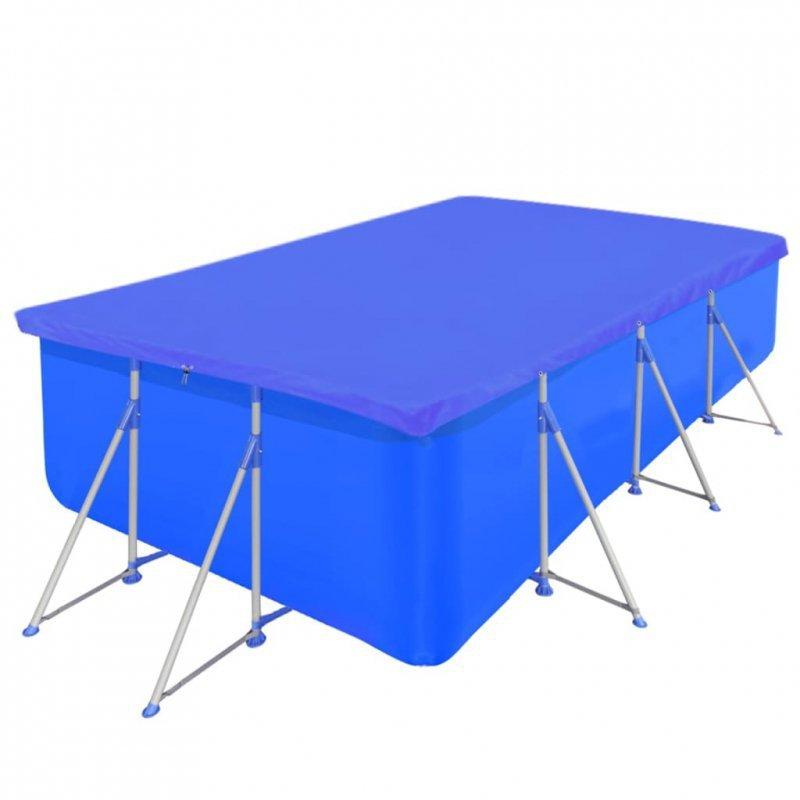 Pokrywa na prostokątny basen, 540 x 270 cm, 90 g/m2