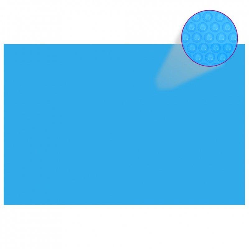 Plandeka na prostokątny basen, 300 x 200 cm, PE, niebieska