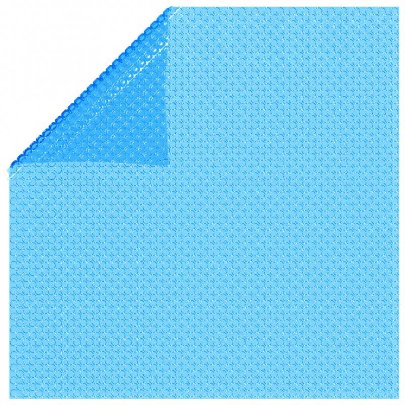 Plandeka na prostokątny basen, 732 x 366 cm, PE, niebieska