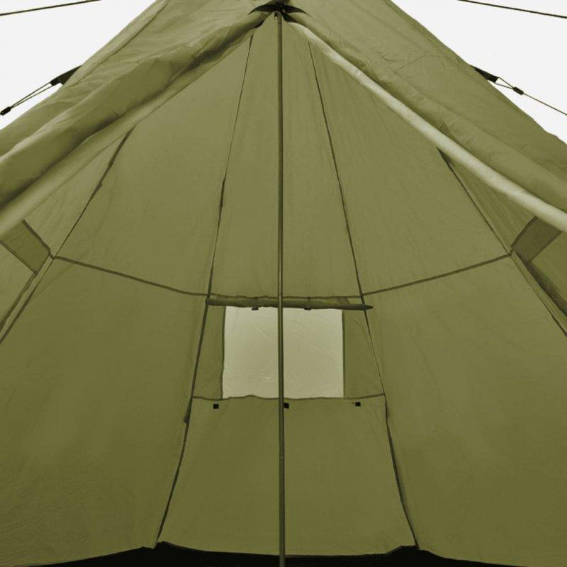 Namiot 4-osobowy, zielony