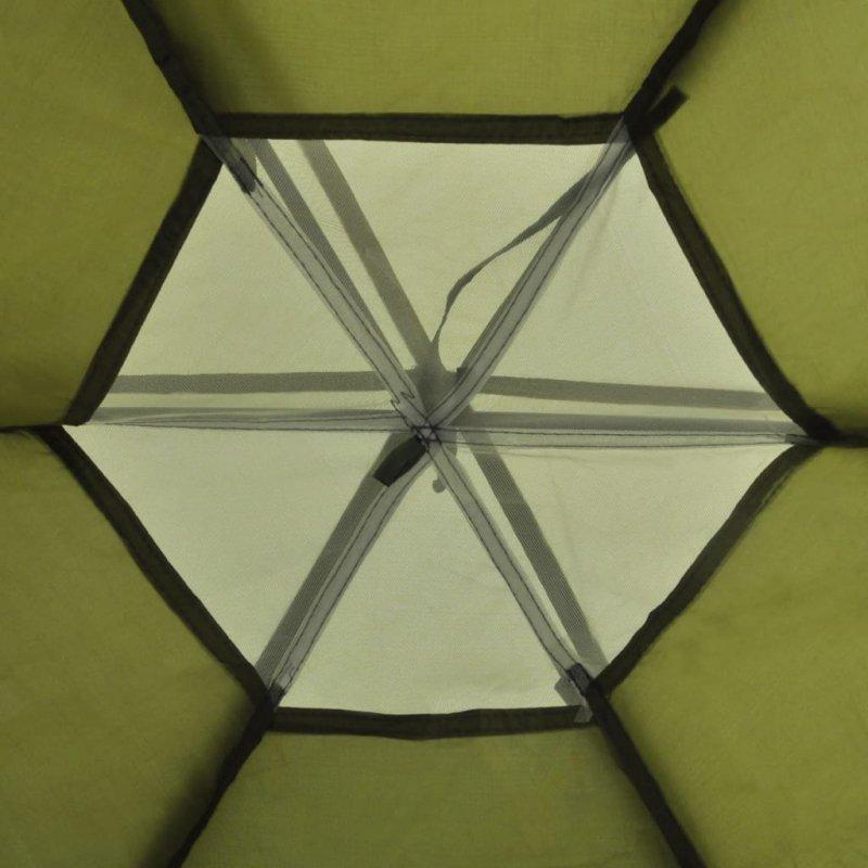 Namiot 6-osobowy, zielony