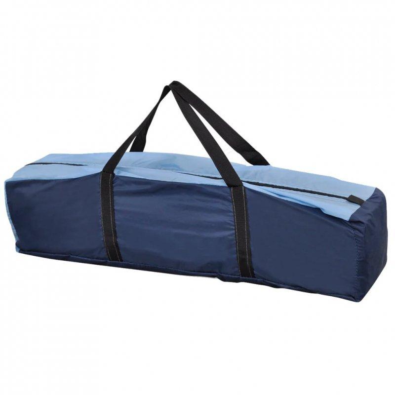 Namiot 4-osobowy, niebieski