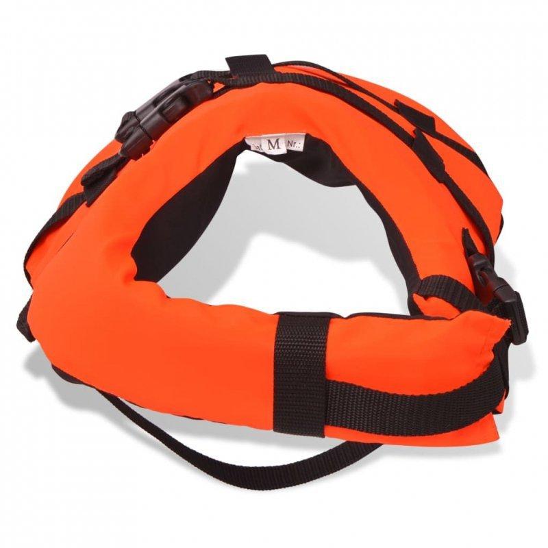 Kamizelka ratunkowa dla psa S pomarańczowa