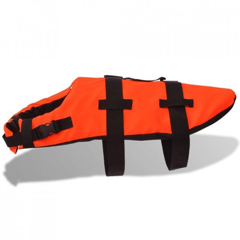 Kamizelka ratunkowa dla psa L pomarańczowa