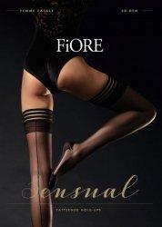 Pończochy Fiore O 4064 Femme Fatale 20 den 5XL-6XXL