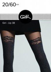 Rajstopy Gatta Girl-Up wz.38 20/60 den