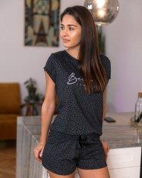 Piżama Sensis Panther kr/r S-XL