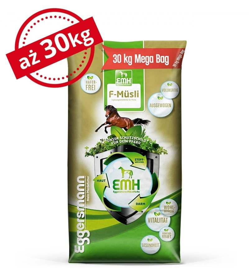 EMH F Musli- bezowsowe musli 30 kg  Eggersmann
