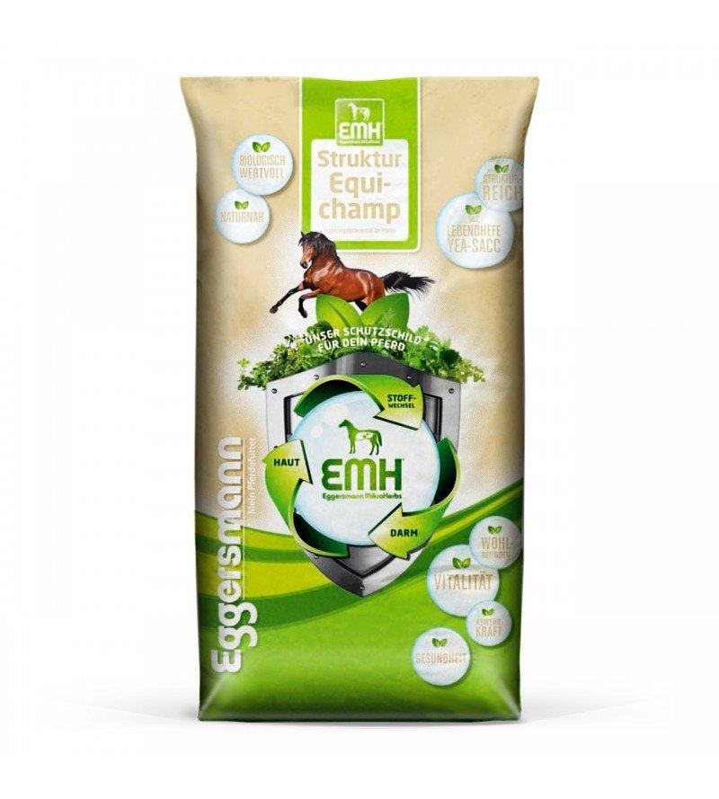 EMH Struktur Equichamp- pasza dla koni typu build up , przyrost masy mięśniowej 20 kg  Eggersmann