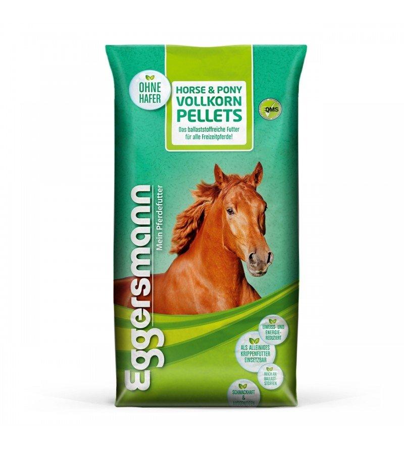 Horse & Pony Vollkorn Pellets- granulat pełnoziarnisty dla koni i kuców 25 kg  Eggersmann