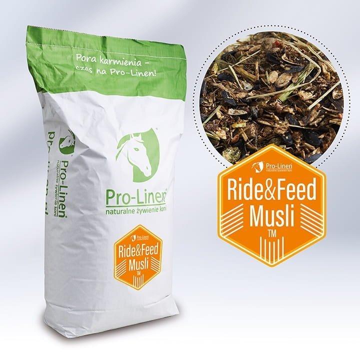 RIDE&FEED (pasza skoncentrowana) 15kg  Pro-linen