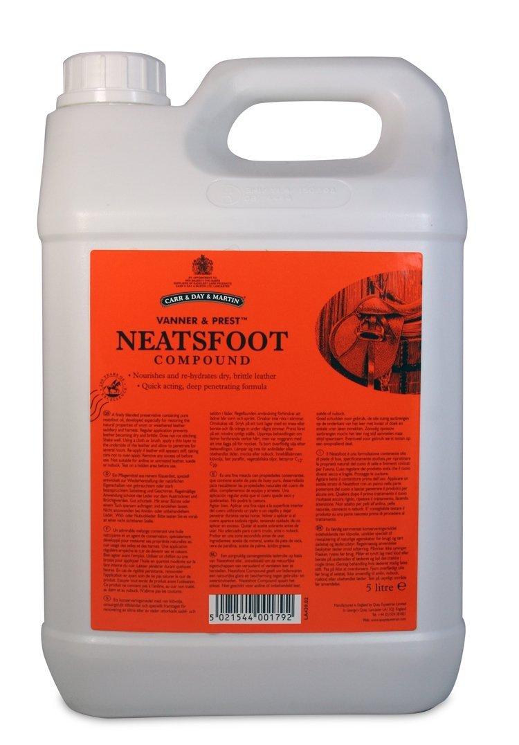 C&D&M VANNER&PREST NEATSFOOT, olej do impregnacji skóry 5l