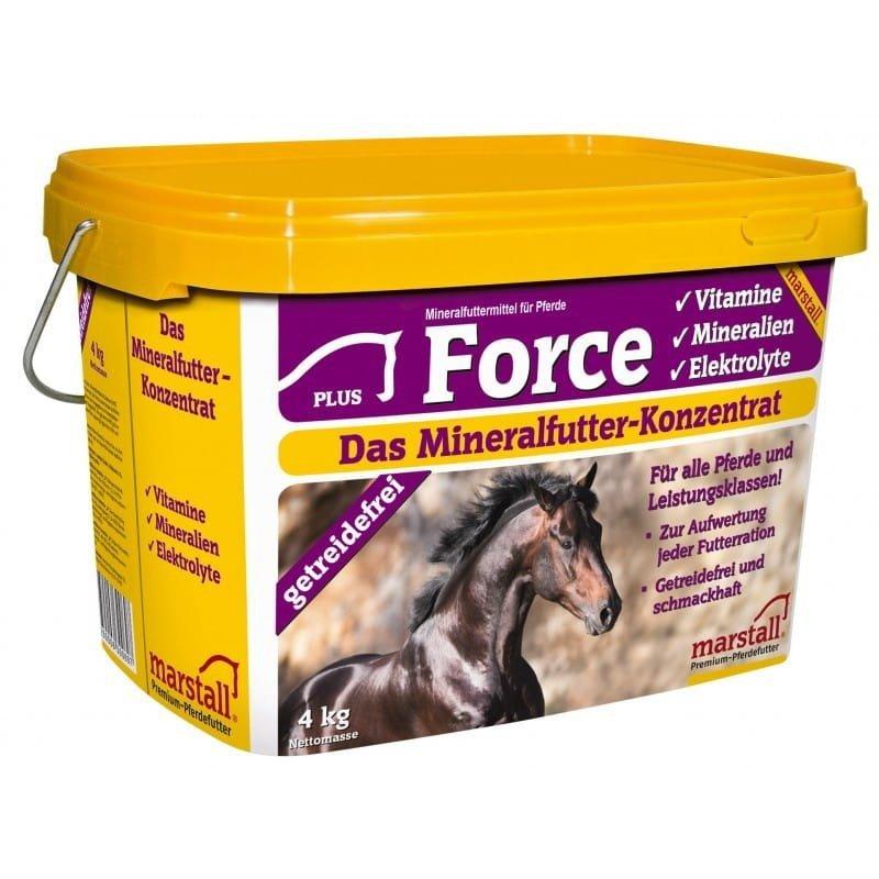 FORCE witaminy dla koni 4kg  Marstall