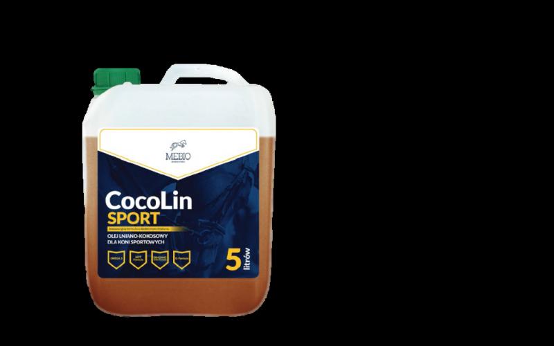 CocoLin Sport - olej lniano kokosowy 5 l Mebio