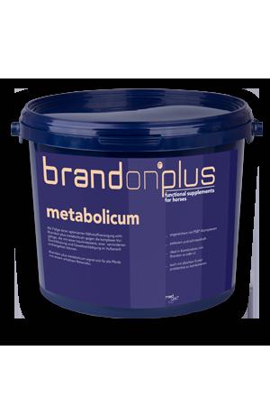 Metabolicum - otyłość, wsparcie metabolizmu 3 kg  Brandon PLUS