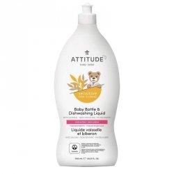 Sensitive Skin Baby, Naturalny płyn do mycia butelek i naczyń dla niemowląt, 700 ml